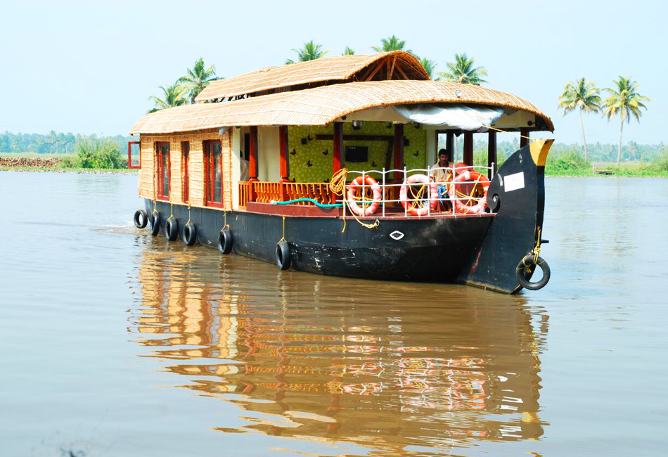 over night premium houseboat package